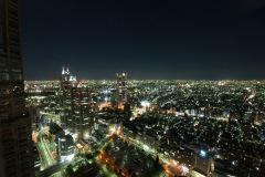 幡ヶ谷方面の夜景